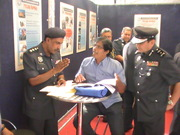Discussion with Malaysian IGP officers