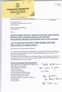 Letter to Malaysian IGP -page 1