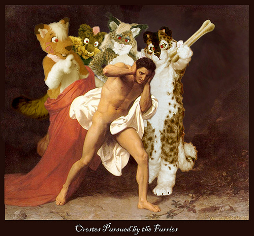 Orestes is Pursued by the Furries