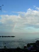 Rainbow over the Straight of Juan De Fuca