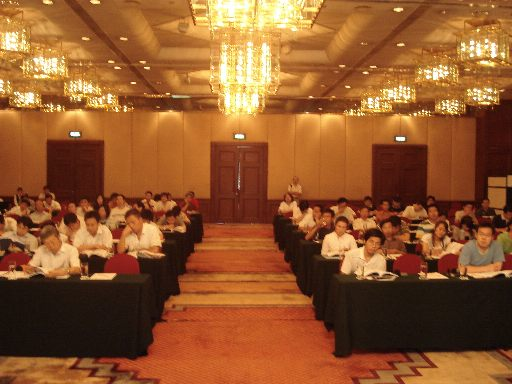 Full house in Beijing