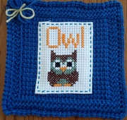 March - A is for Apple - Owl