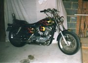 My old Sportster.
