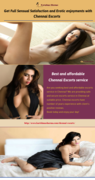 Get Full Sexual Satisaction and Erotic Enjoyment with Chennai escorts
