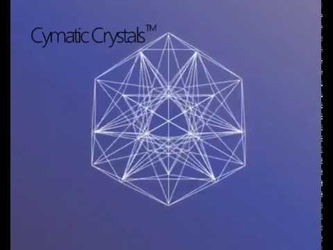 The Cymatic Crystal Reflection Geometry animated.