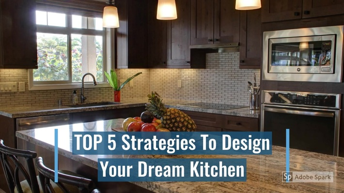5 Steps to Your Dream Kitchen