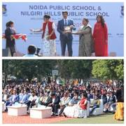 Sandeep Marwah Invited by Noida Public School on Annual Day