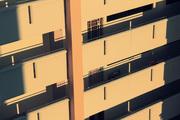 apartment block corridors