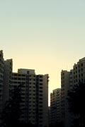concrete sunset