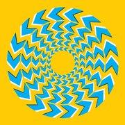Chevron Spin optical illusions