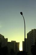 neighbourhood sunset