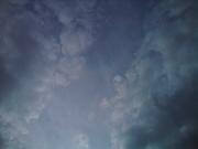Rainbow in the summer sky