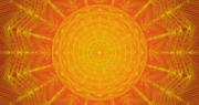 Mayan Red Sun