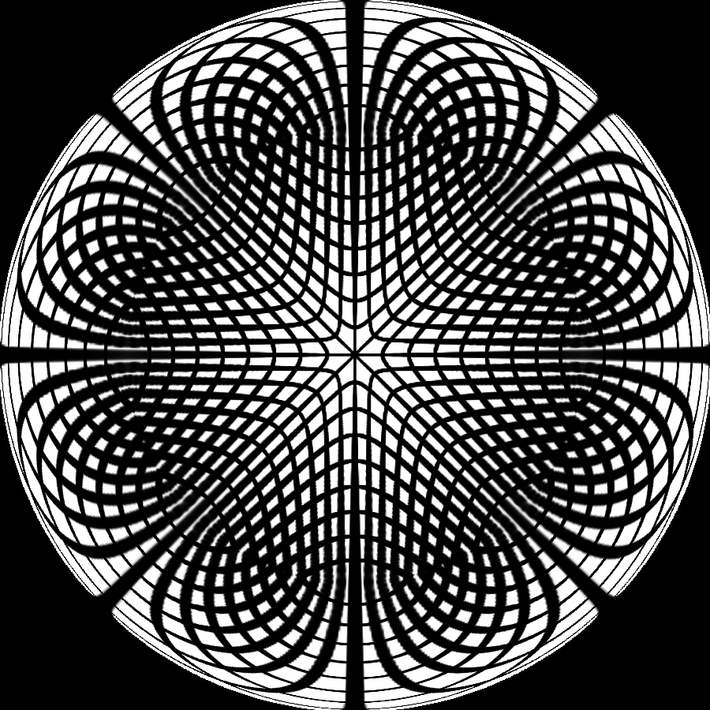 Polar Grid 8