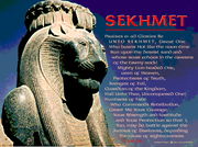 Sekhmet Prayer