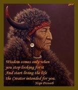 Wisdom Hopi Proverb