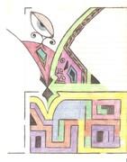 Abstraction Inward Eye