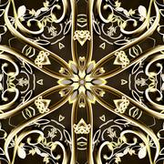 Golden Bands of Light