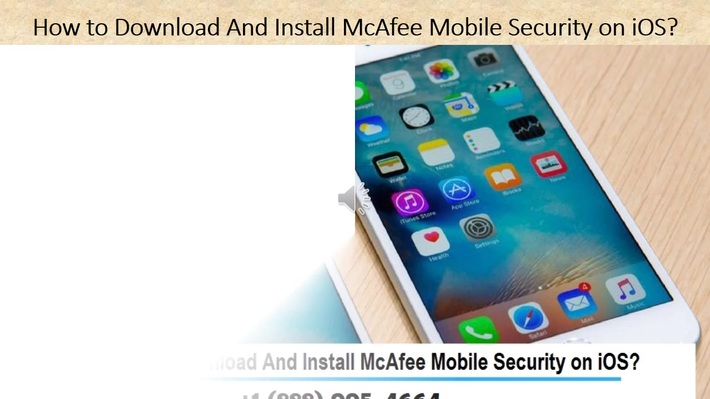 How to download and install Mcafee mobile security