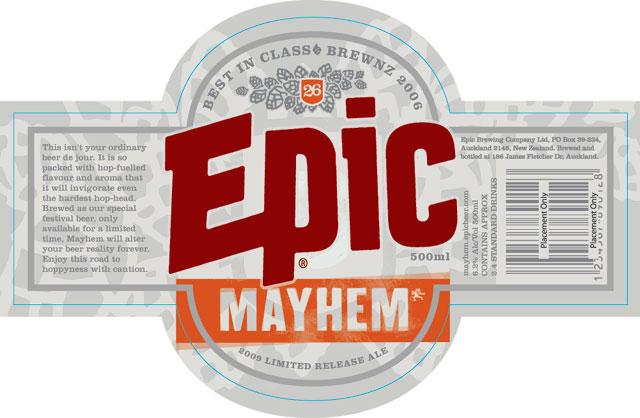 Epic Mayhem - It's Back For The Festival Season