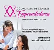 II Congreso de Mujeres Emprendedoras (Presencial y virtual)