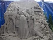 Sand Nativity (Presepio di sabbia)
