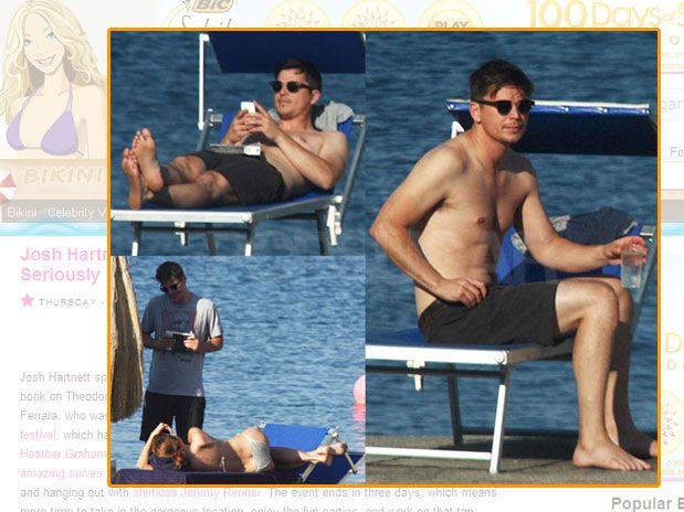 Josh na Itália