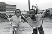 """Cyclists"", Paterson, N..J.; 1967"