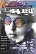 Kurt Weill Poster