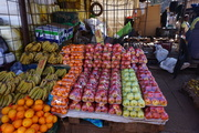 The fruit and vegetable wholesale at Mbare