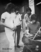 """To Manny's Thanks Alot""  The Kinks: Dave Davies, Mick Avory, John Dalton, Ray Davies"