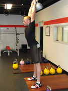 Who trains with Kettlebells?