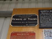 SMJR sign on display at KWVR - Ingrow