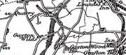 Mid 1800's Map of Gayton