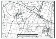 Map of Gayton area C1958