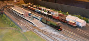 V2 hauled passenger train at Woodford