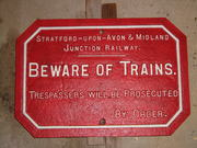 SMJR TRESPASS SIGN