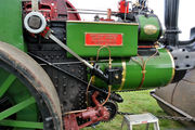Towcester Rural District Council Steam Roller - delivered by SMJ line to Towcester Station