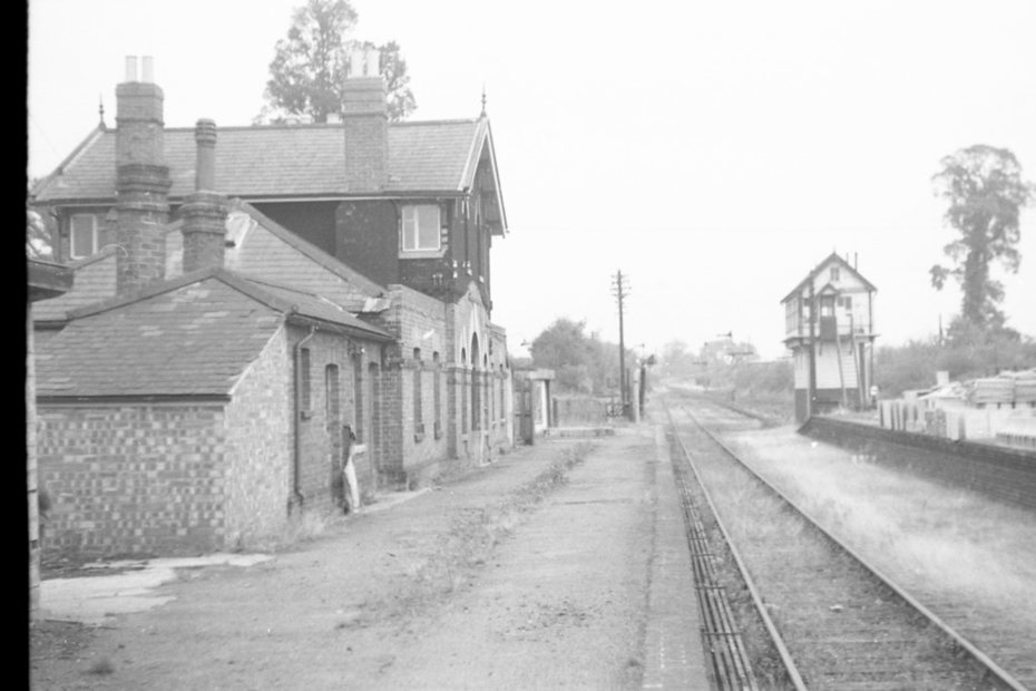 Towcester Station, May 1964