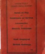 ASLEF Rates of Pay Handbook 1958