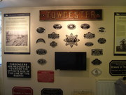 Old Railway Exhibition Towcester Museum.