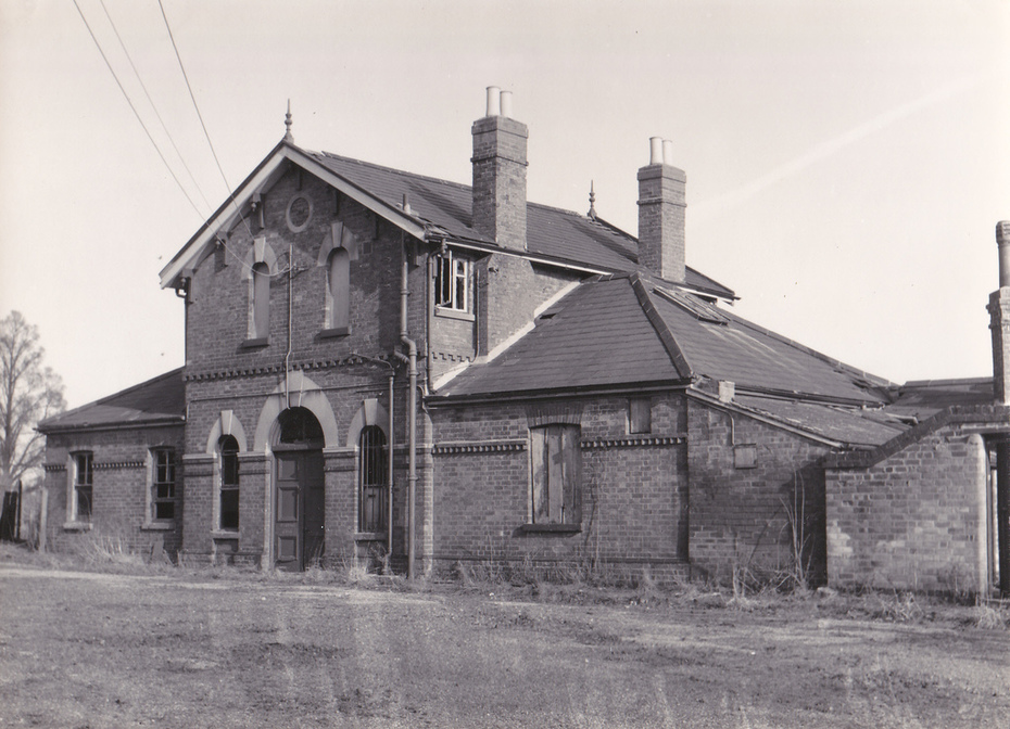 Towcester Station c.1966 (2)