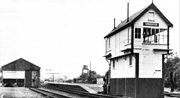 TOWCESTER SIGNAL BOX + GOODS SHED.
