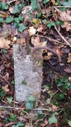 he remains of a reinforced concrete post near Bridge 4