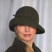 """Дамская шляпка """"Тайна дубовой рощи"""""""