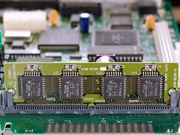 Mac IIsi ROM SIMM in SE/30 logic board