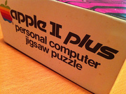 Apple ][+ Jigsaw Puzzle