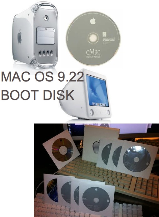 I Found the Holy Grail Mac OS 9.22 Boot Disk, MDD or eMac