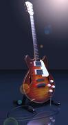 Sunset Les Paul Guitar