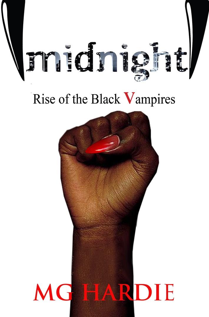 Rise of the Black Vampires by MG Hardie